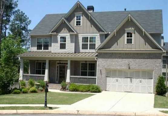 Sharp residential model homes