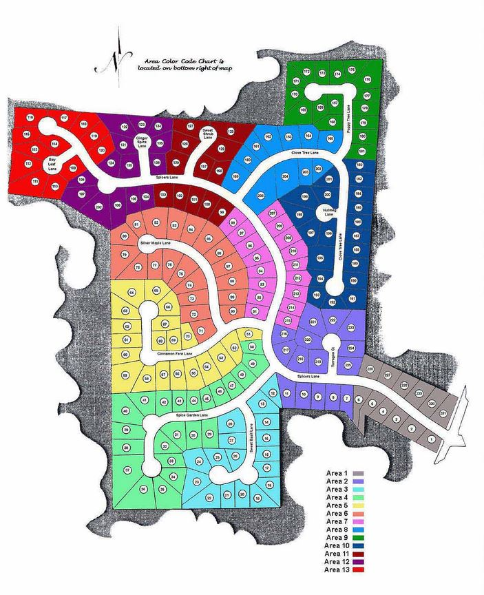 Neighborhood Spicers Grove Site Plan